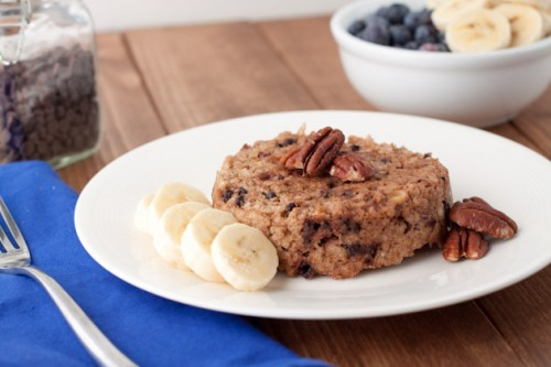 2013-12-31-5-Minute-Banana-Chocolate-Chip-Quinoa-Flake-Bake-500x333