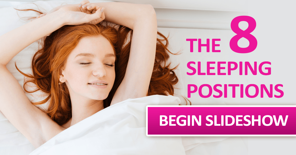 8 best position to sleep