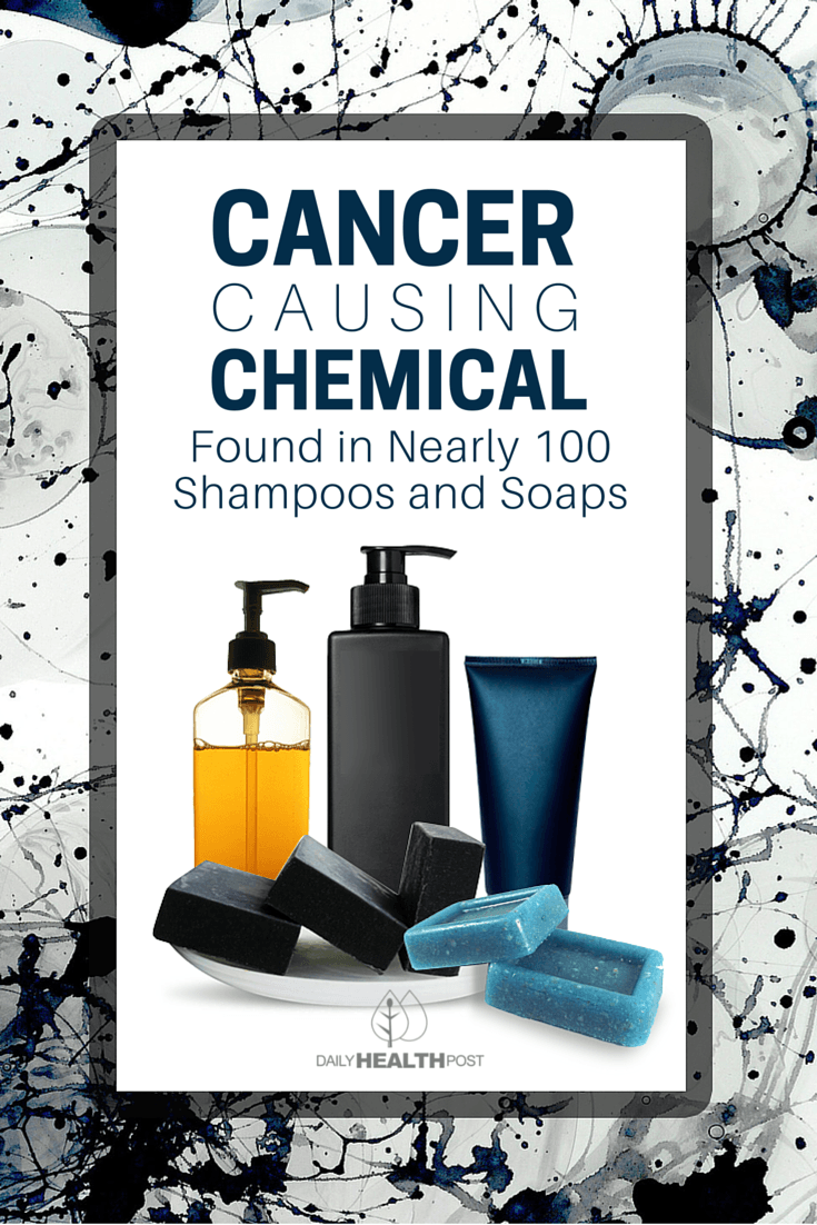 05 Cancer-Causing Chemical Found in Nearly 100 Shampoos and Soaps-PIN