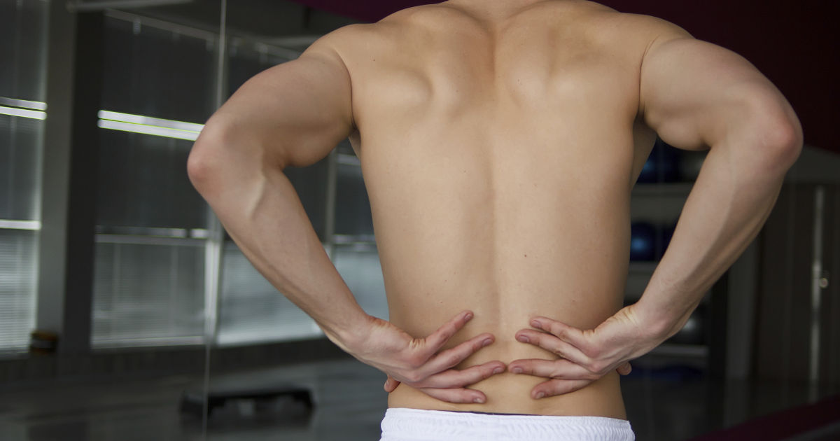 muscle knot back pain