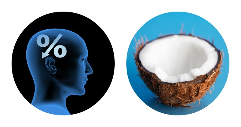 coconut boost brain health