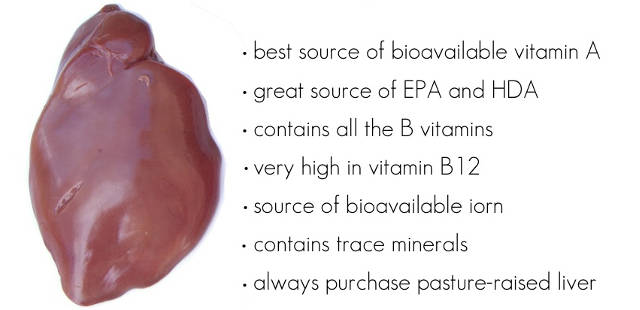 health benefits of eat liver