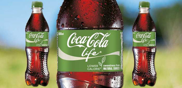 coke life stevia sweetened