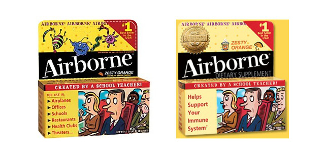 airborne health supplement lawsuit