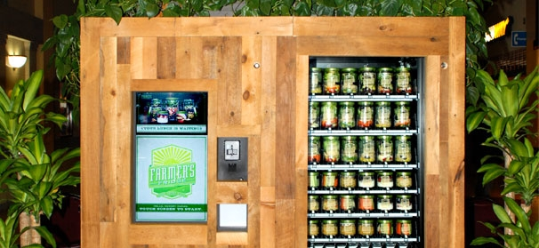 Next gen vending machine dispenses fresh foods instead of Can you put hot food in the refrigerator