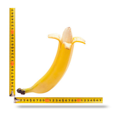 banana measured length