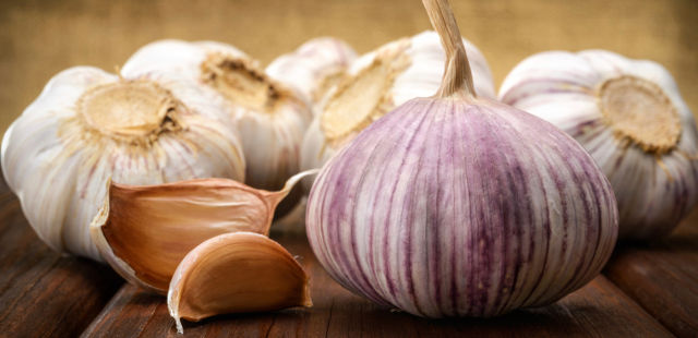 raw garlic reduces lung cancer
