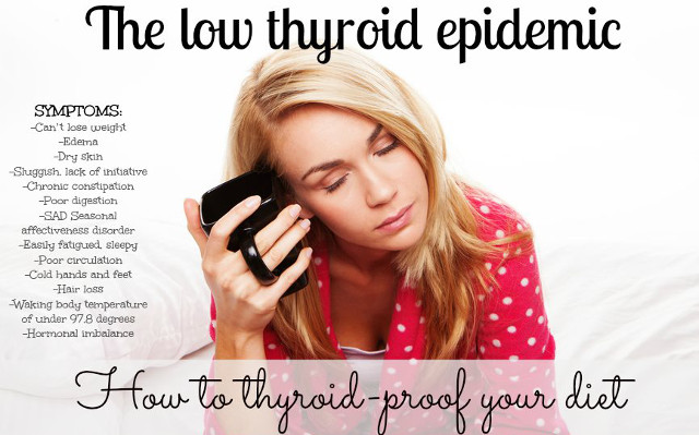 low thyroid goitrogenic foods