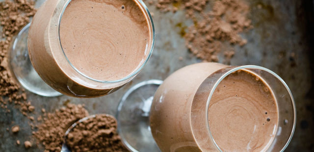 raw chocolate smoothie recipe