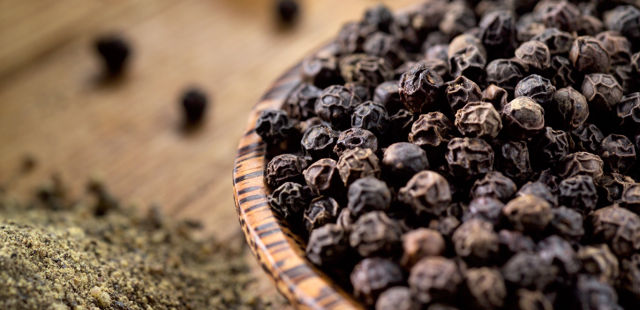 piperine black pepper increases bioavailability