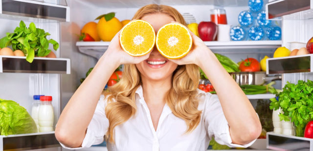 foods healthy eyes