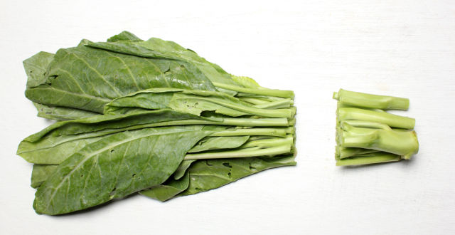 leafy green vegetable acid reflux