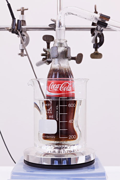 device turns coca cola into water