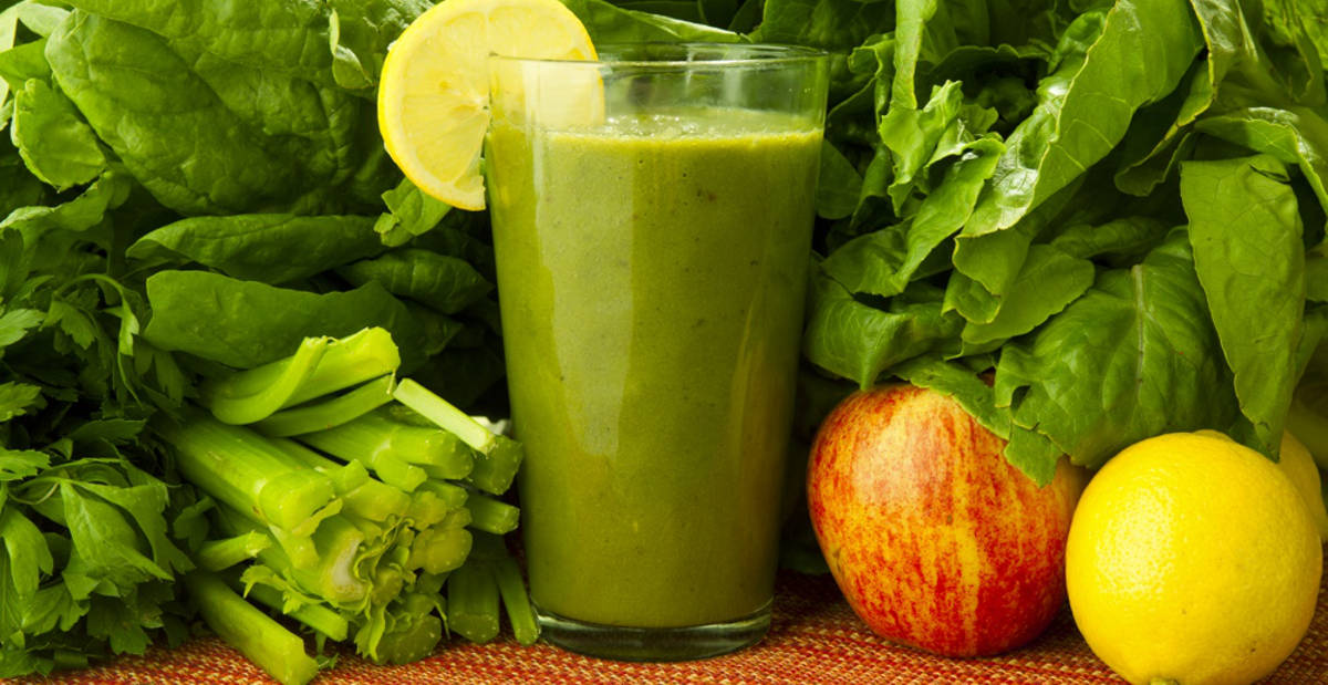 green smoothie for lungs