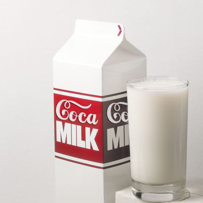 coke sells milk