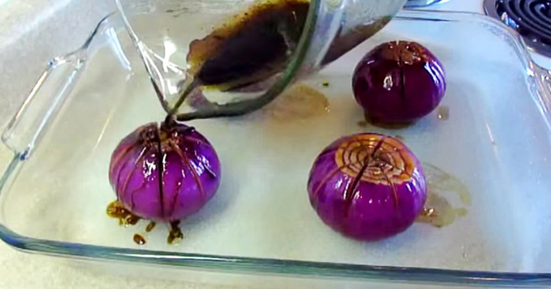 onion flower recipe