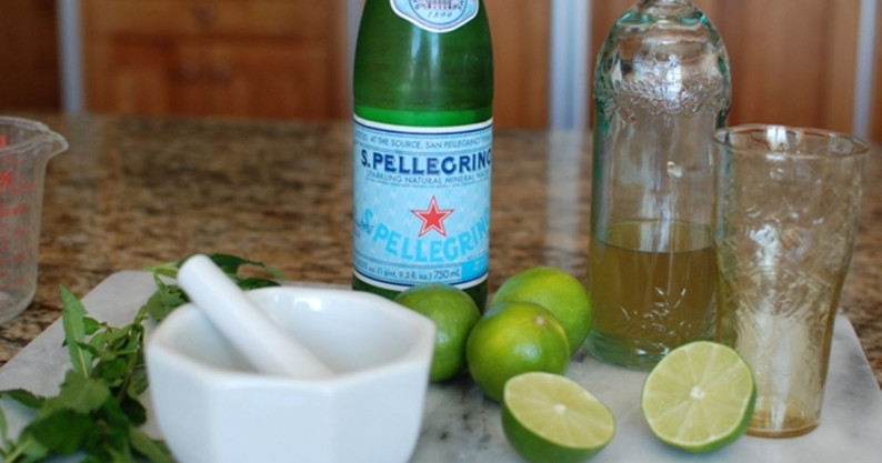 homemade ginger ale