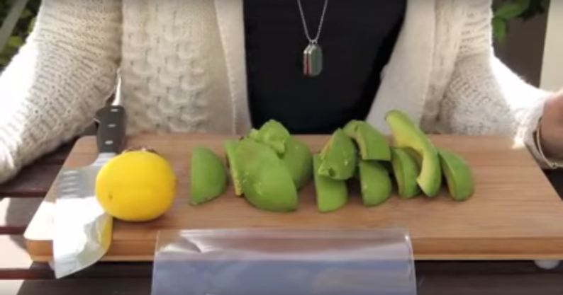 freezing avocados