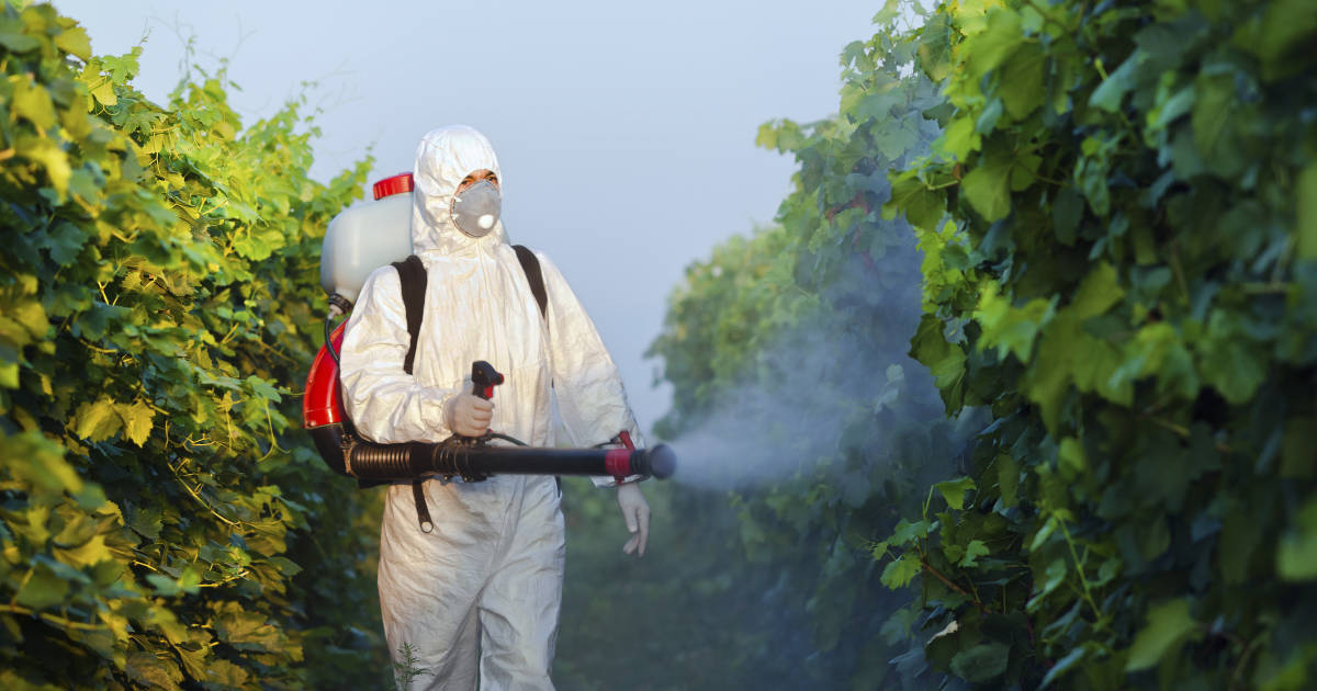 pesticides spraying