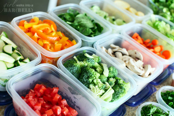 veggies containers