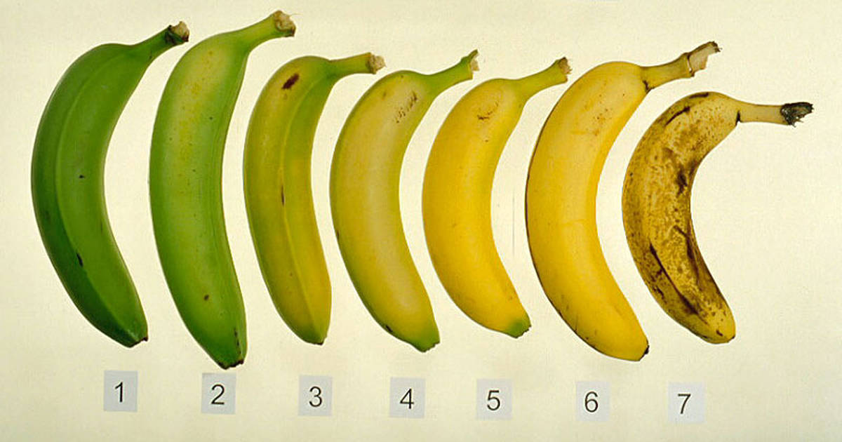 bananas brown spots