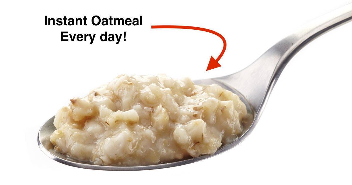 instant oatmeal hack