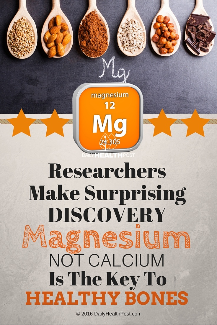 06 Researchers Make Surprising Discovery- Magnesium, NOT Calcium, Is The Key To Healthy Bones