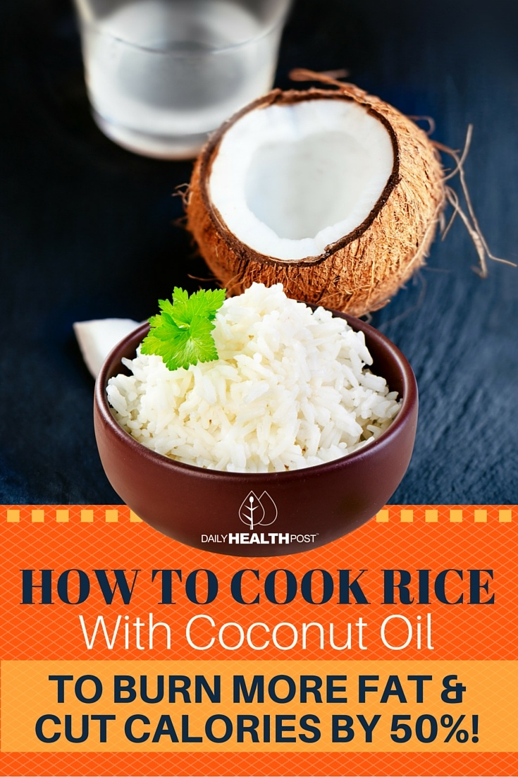 08 How to Cook Rice With Coconut Oil to BURN More Fat and Cut Calories by 50!
