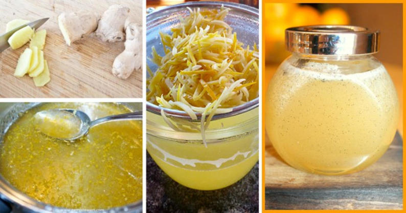 ginger-infused honey
