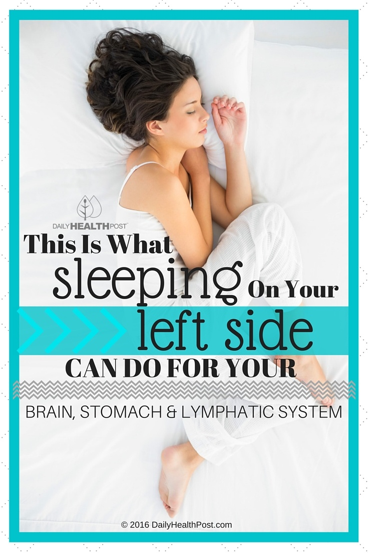 08 This Is What Sleeping On Your Left Side Can Do For Your Brain, Stomach And Lymphatic System