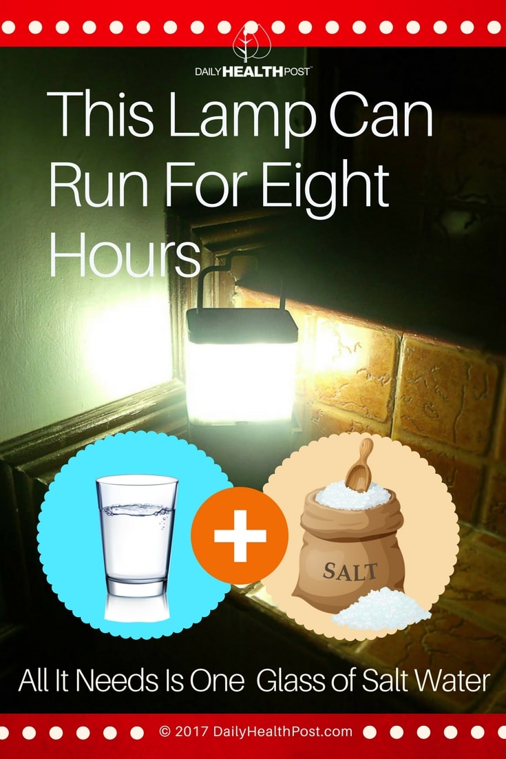 Filipino Invents Salt Lamp That Runs On Salt Water for Salt Water Lamp  45hul