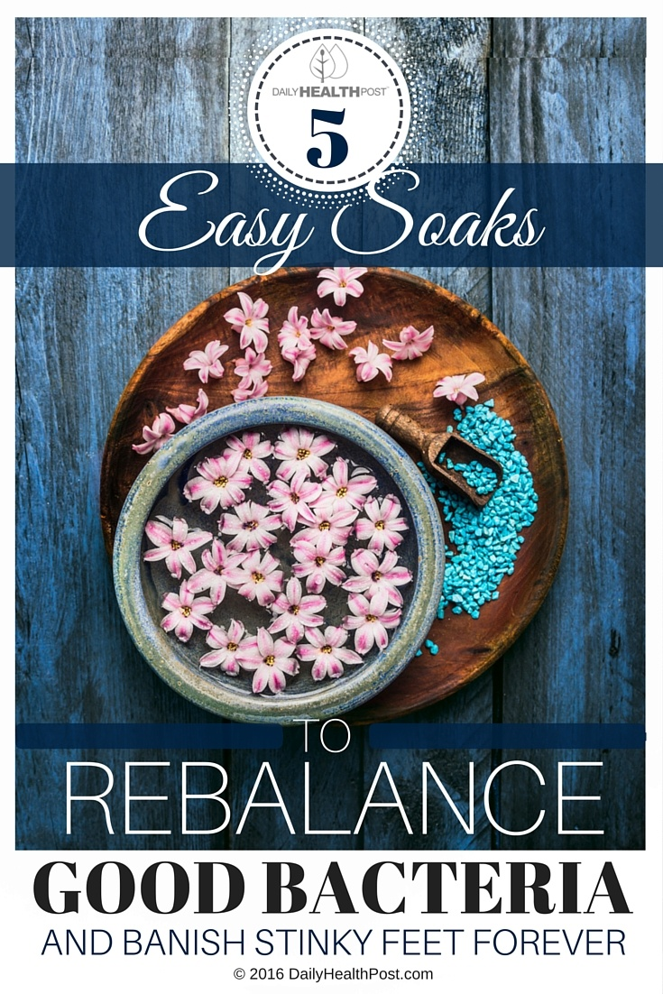 05 5 Easy Soaks To Rebalance Good Bacteria And Banish Stinky Feet Forever (1)