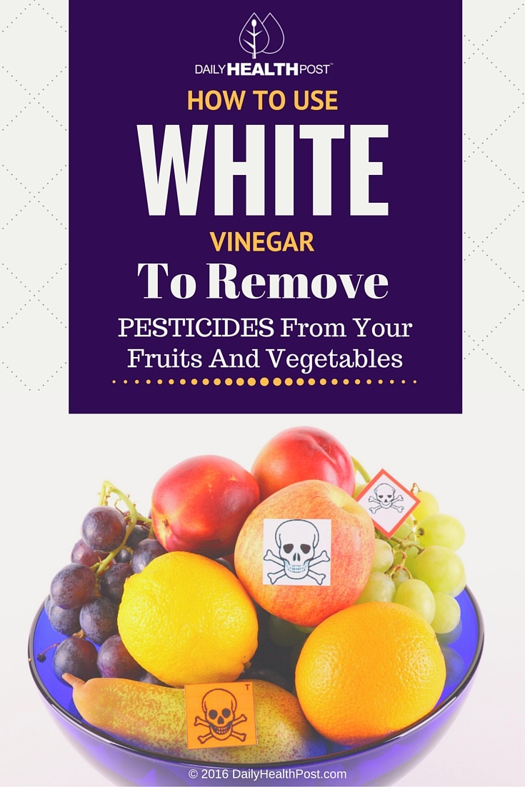 05 How To Use White Vinegar To Remove Pesticides From Your Fruits And Vegetables