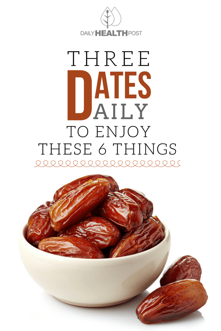 08 Eat 3 Dates Daily And These 6 Things Will Happen To Your Body!-PIN