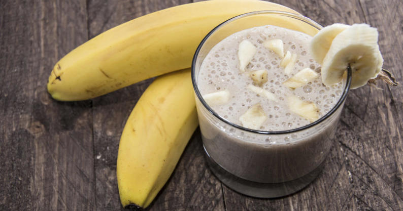 ginger banana smoothie