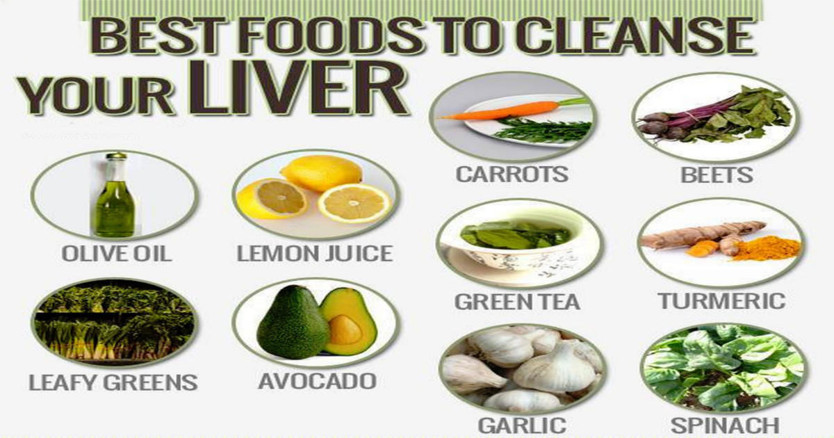 14 Best Foods You Can Eat Every day To Cleanse Your Liver