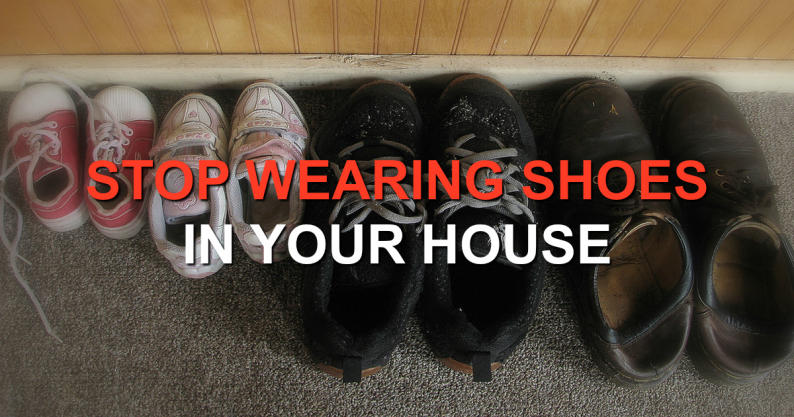 stop wearing shoes
