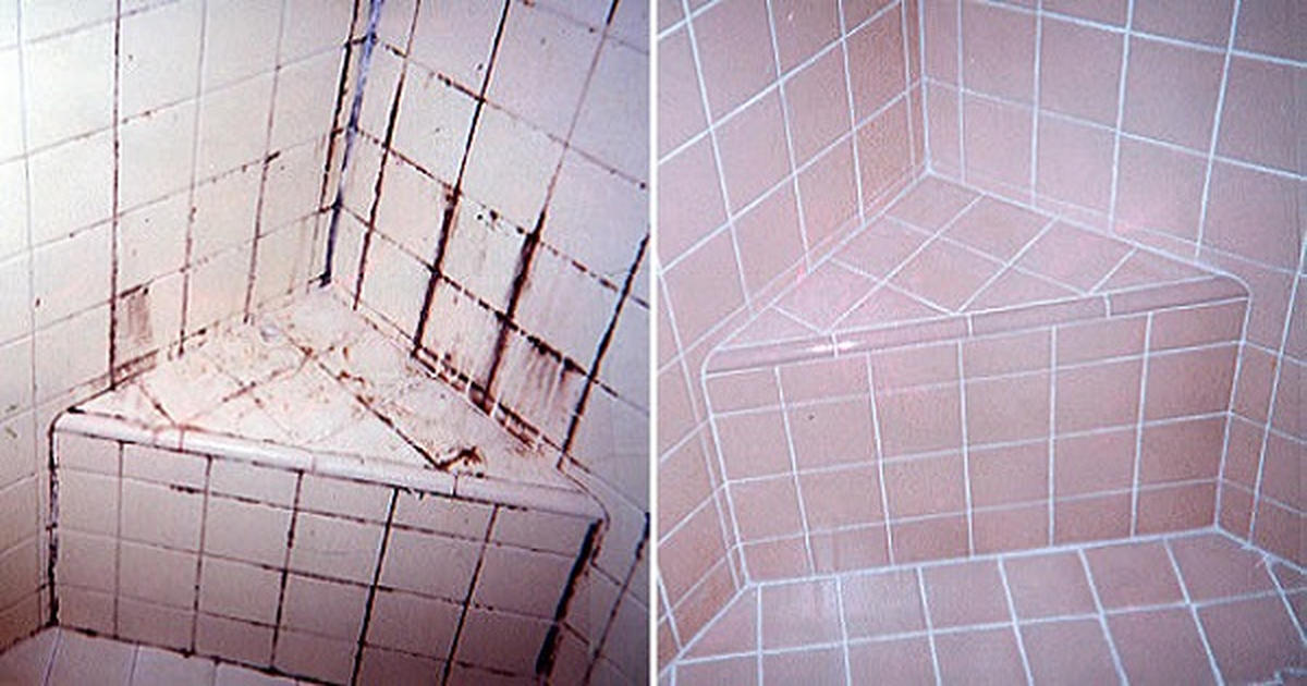 Bathroom Grout Cleaner this natural grout cleaner doesn't produce any toxic fumes and