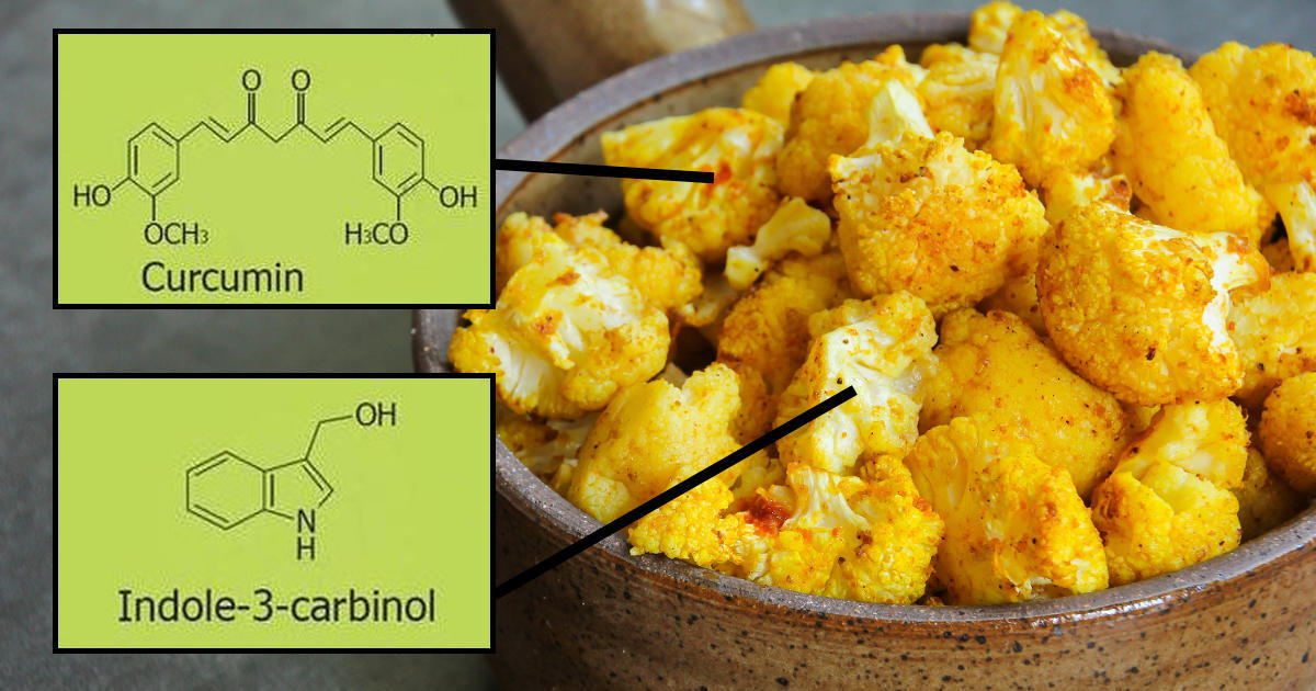 cauliflower turmeric cancer