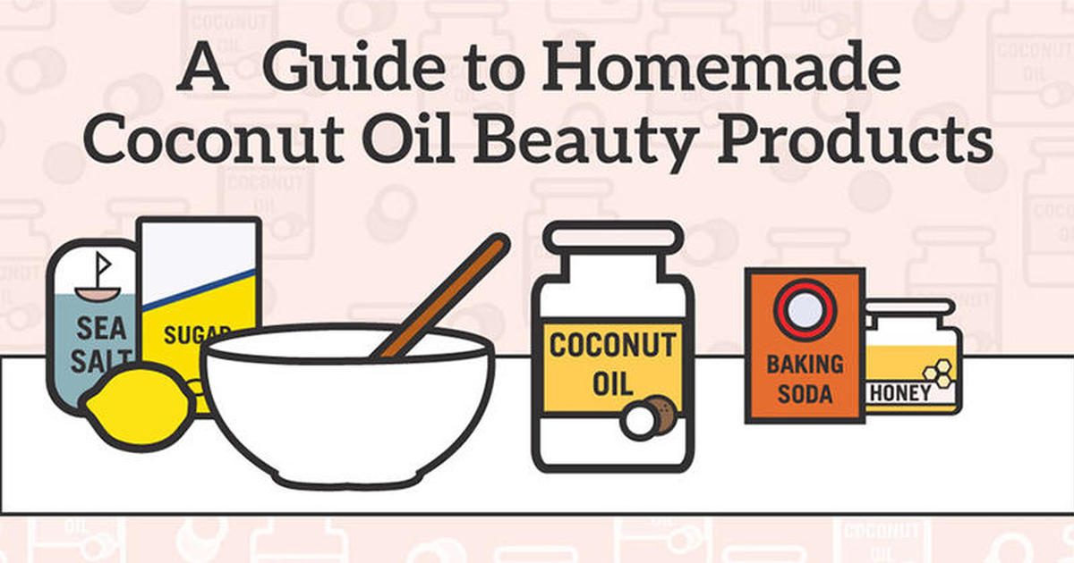 coconut oil beauty recipes