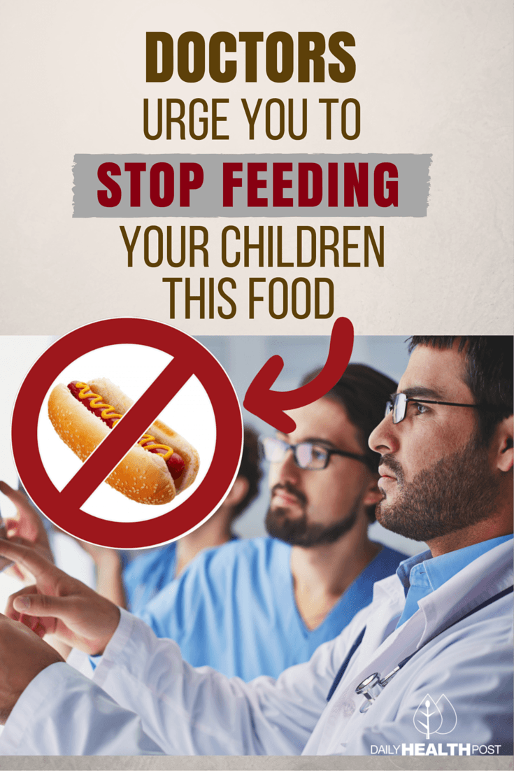 Doctors Are Urging You To Stop Feeding Your Children Hot Dogs- Here's Why-PIN