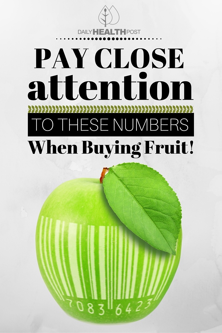 Pay Close Attention To These Numbers When Buying Fruit!