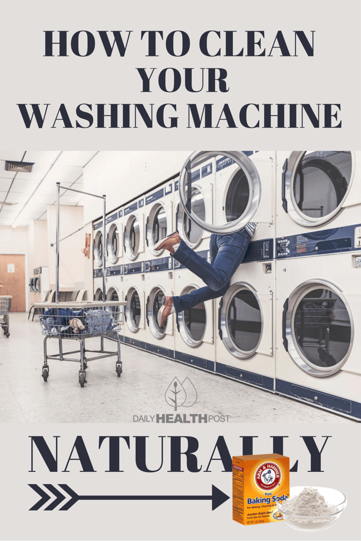 10 How To Clean Your Washing Machine Naturally