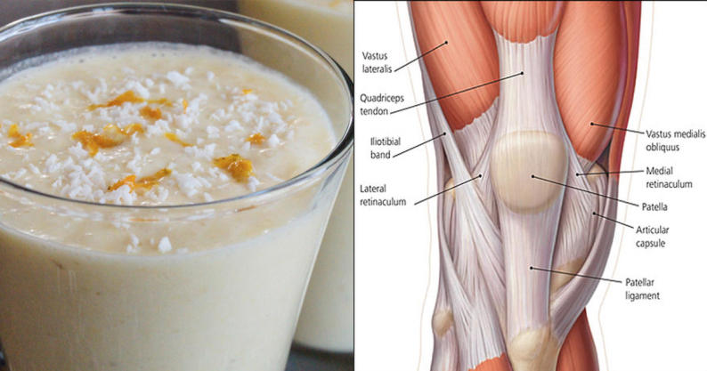 knee pain joint smoothie