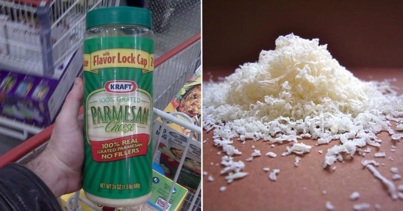 fake parmesan cheese