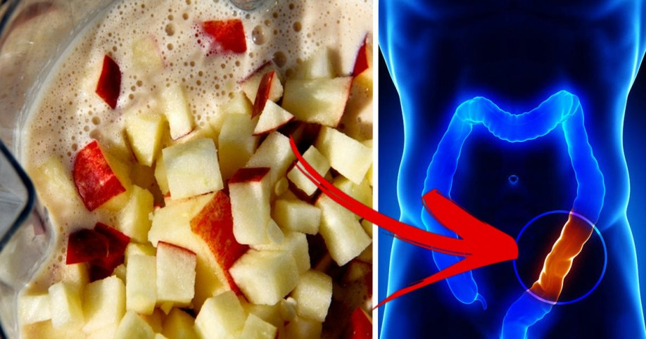 Kết quả hình ảnh cho Empty Your Colon of TOXIC Waste With This Cleansing 4-Ingredient Apple-Honey Mixture
