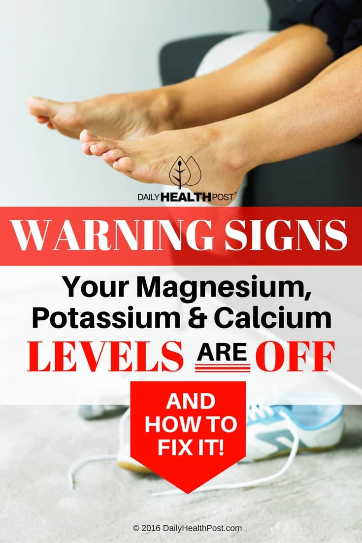Warning Signs Your Magnesium Potassium and Calcium Levels Are OFF and How To FIX It