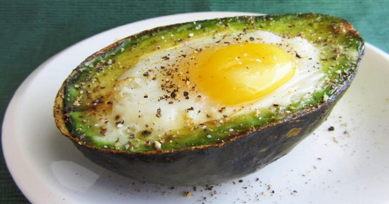 avocado egg