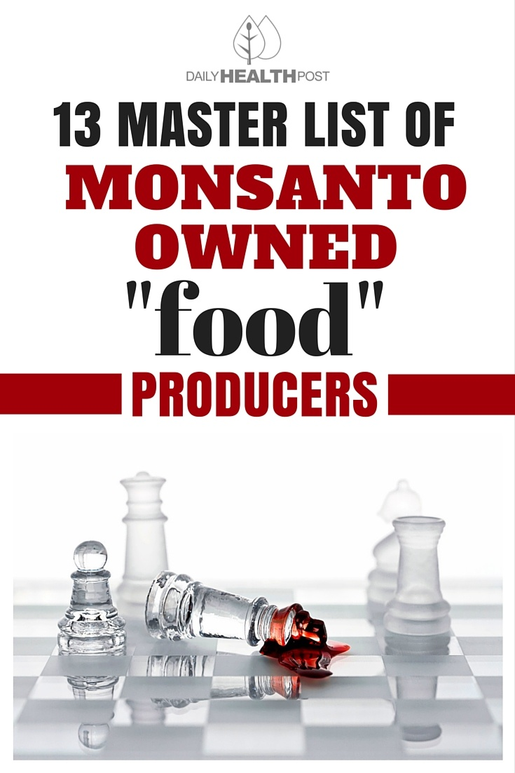 list of Monsanto owned producers
