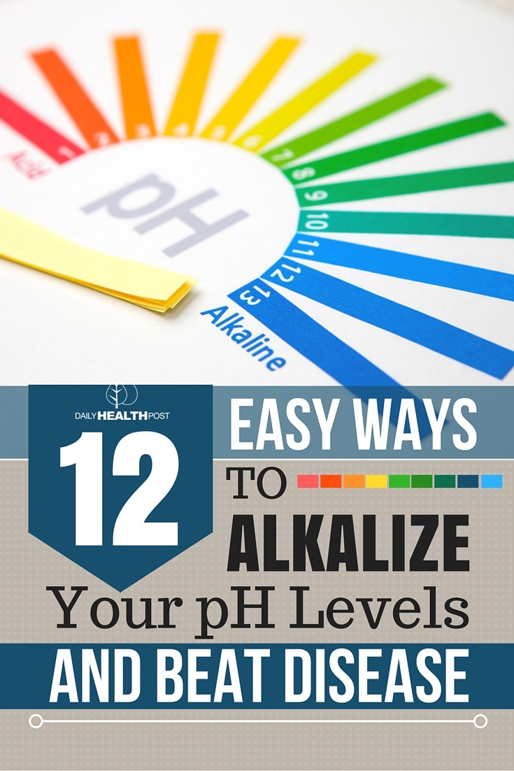 12 Easy Ways to ALKALIZE Your pH Levels and BEAT Disease - Remove Acid Build Up